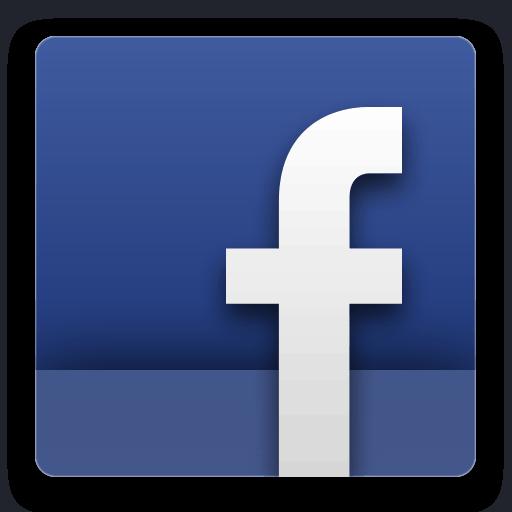 Facebook icon transparent background