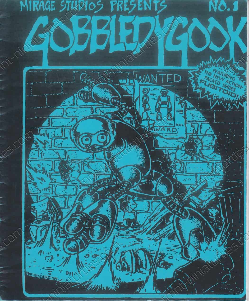 Gobbledygook 01 - COUNTERFEIT BLUE_FRONT COVER (1984)