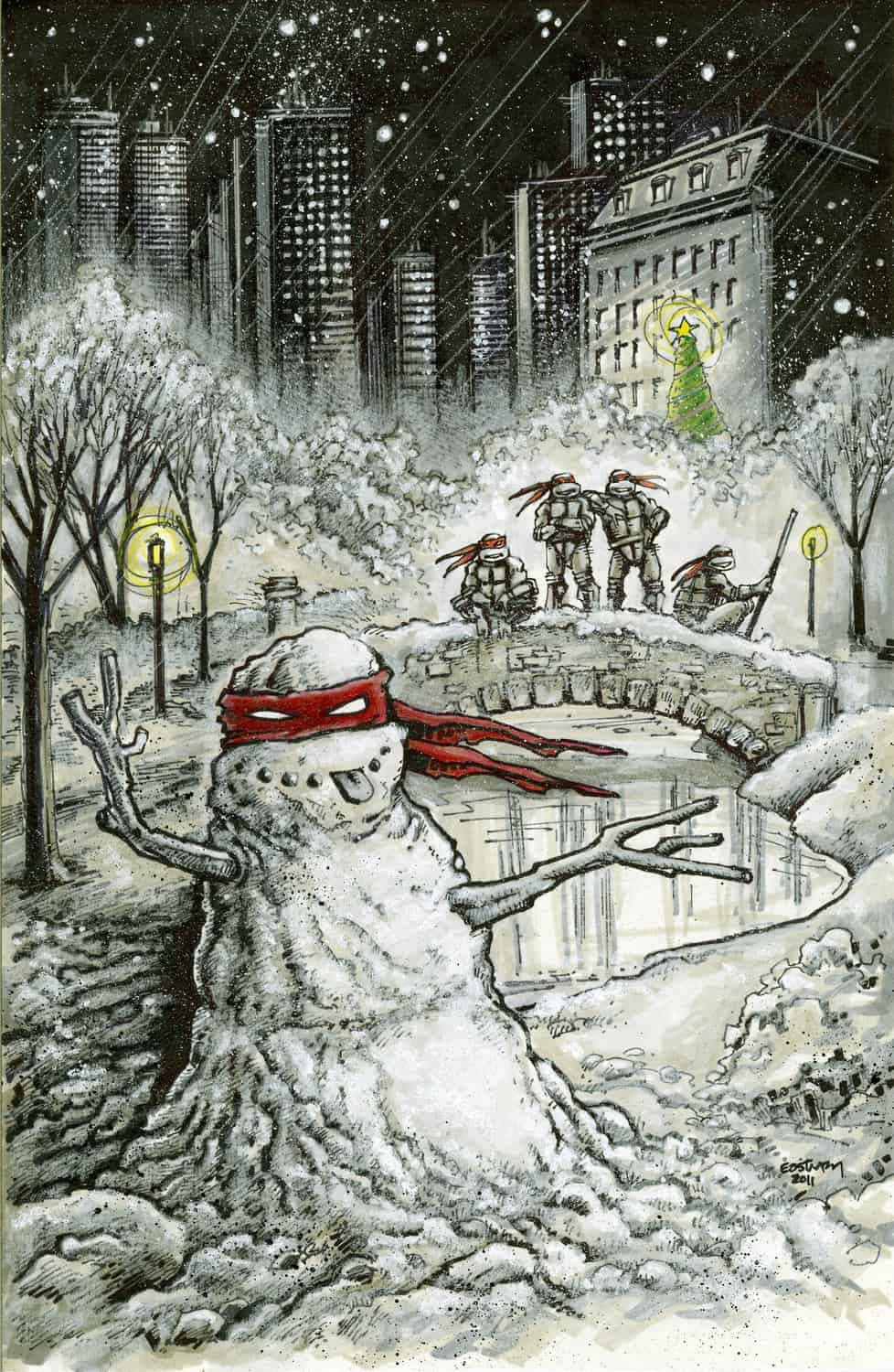 Merry christmas tmnt teenage mutant ninja turtlestmnt merry christmas tmnt fans hope you have a wonderful day with your friends and family re va comicon front sciox Image collections
