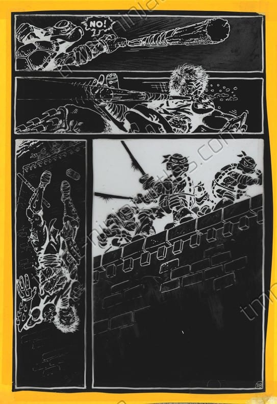 The TMNT #1 Production Negatives: Part 18 – Evidence From
