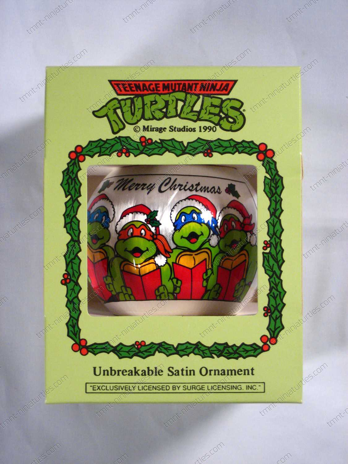 Christmas} Unbreakable Satin Ornament - TMNT Character (Sing ...