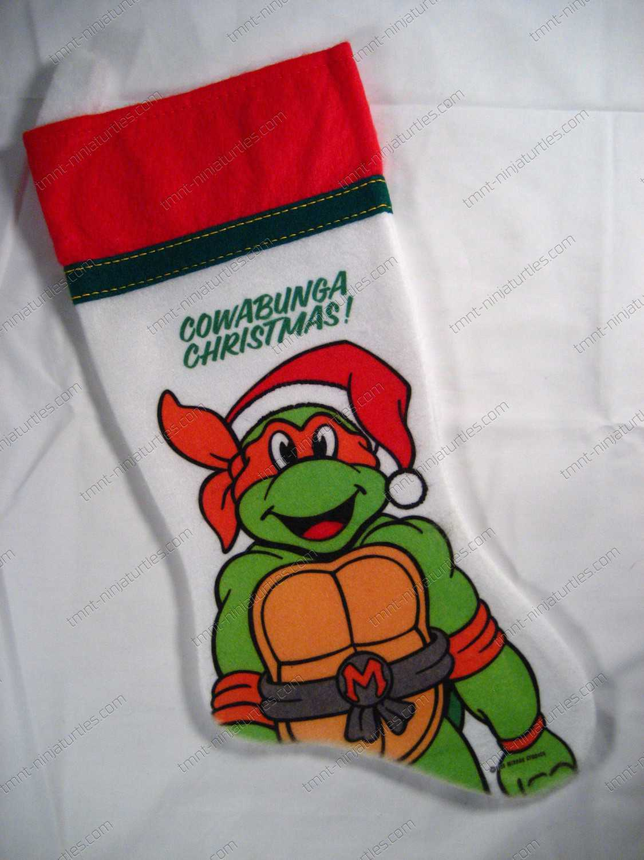Christmas} Christmas Stocking - Michaelangelo -TMNT – Teenage ...