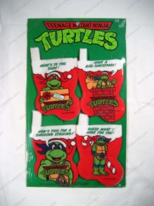 TMNT Christmas stockings_4 pack