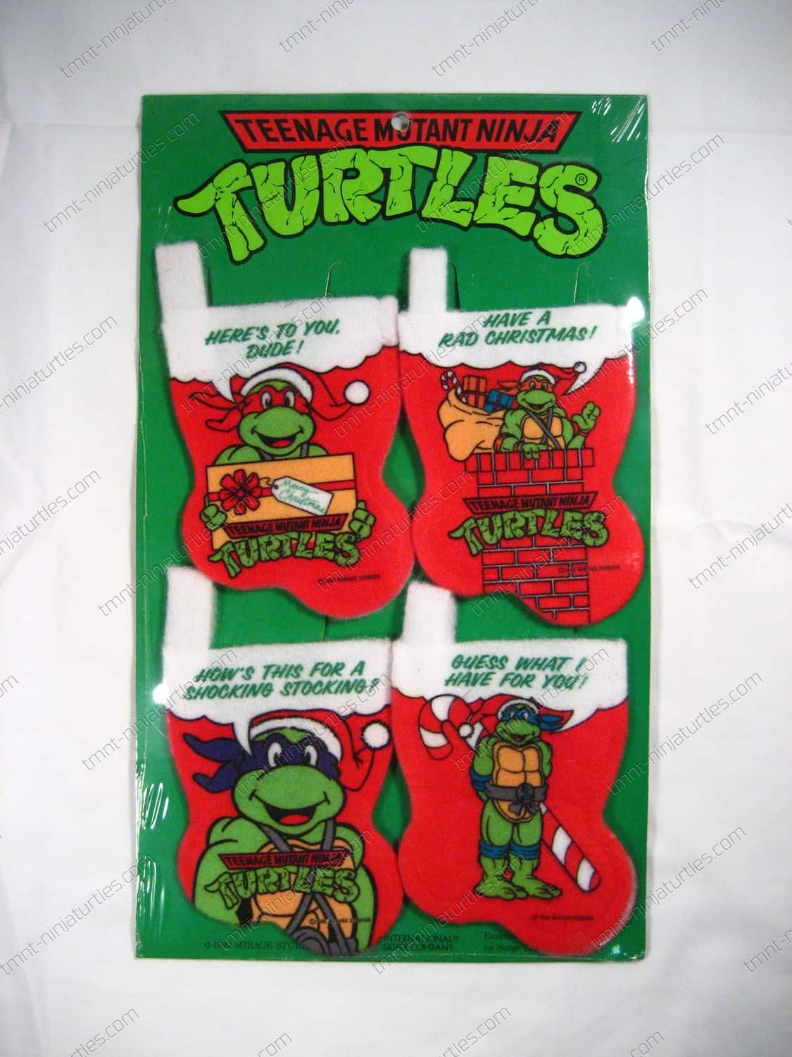 Christmas} Mini-Stocking 4-pack -TMNT – Teenage Mutant Ninja Turtles