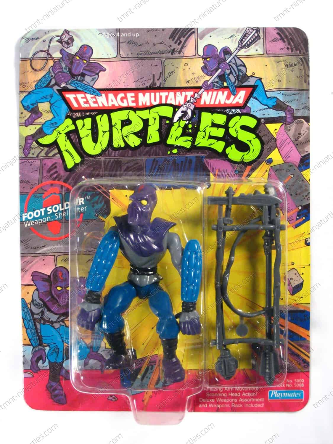Playmates teenage mutant ninja turtles 1988 1992 for Foot soldier