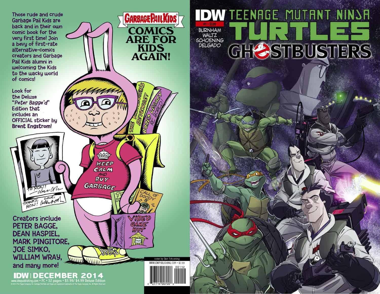 tmnt ghostbusters 1 idw u2013 2nd printing tmnt teenage mutant
