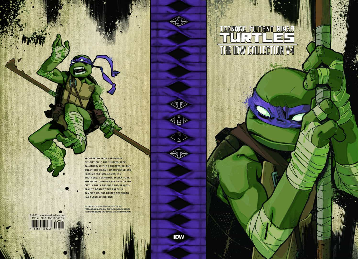 TMNT The IDW Collection Vol 4 HC