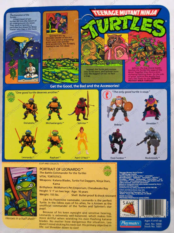 {Playmates} Teenage Mutant Ninja Turtles (1988-1992 ...