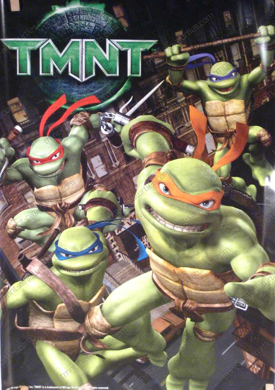 {Posters / Wall Hangings} TMNT Movie 2007 Poster -TMNT ...