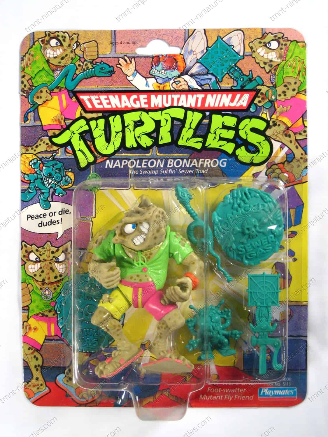 TMNT TEENAGE MUTANT NINJA TURTLES   NAPOLEON BONAFROG