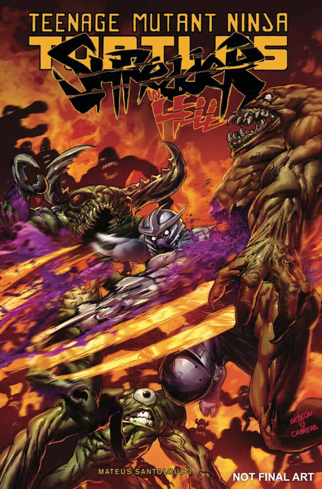Tmnt Shredder In Hell 03 Idw Tmnt A Collection