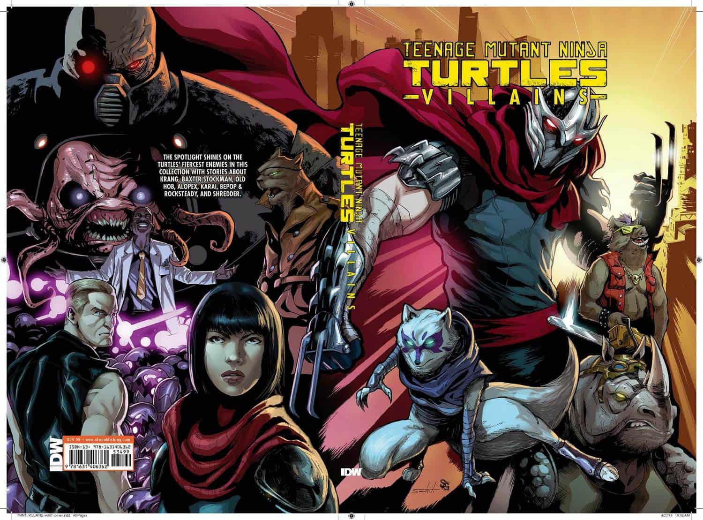 tmnt villains collection hc idw tmnt teenage mutant ninja