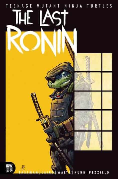Tmnt The Last Ronin 01 Idw Tmnt A Collection